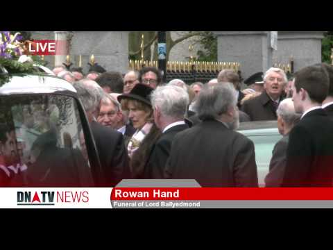 Funeral of Lord Ballyedmond