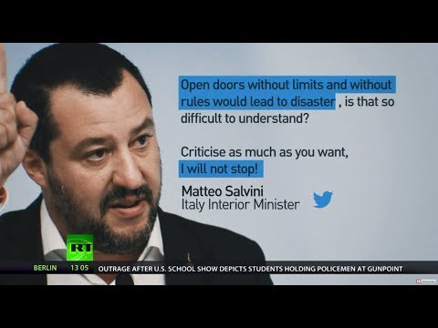 Salvini threatens to close airports if Germany sends back migrants to Italy