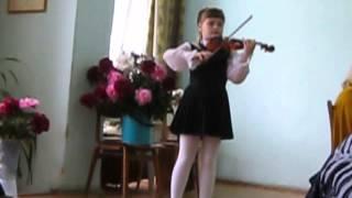 Концерт -Вивальди(a-moll) ЗЛАТА ОБОРОК 1 -ый класс