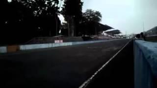 Abidin Jabrik Motor vs Jali Jali SMS Ahon (finish view)