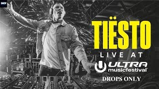 Tiësto live at Ultra Music Festival 2018 | Drops only | Fast Mixing | FULL HD