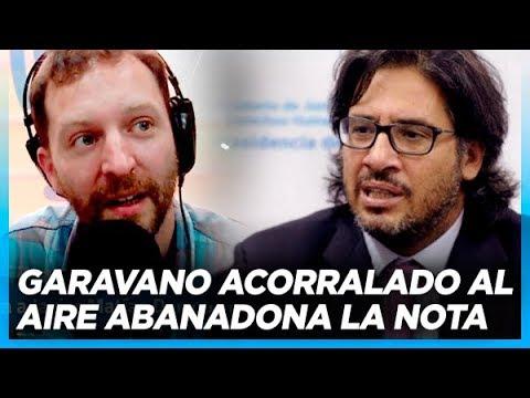 Garavano abandona una nota al quedar expuesto por las preguntas de Ari Lijalad