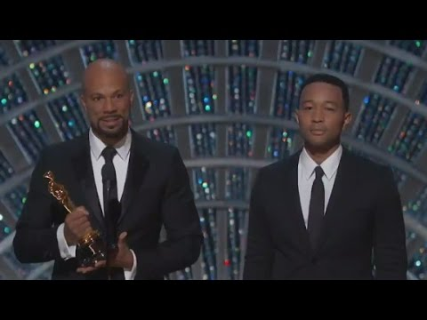 Common, John Legend evoke Civil Rights era at Oscars