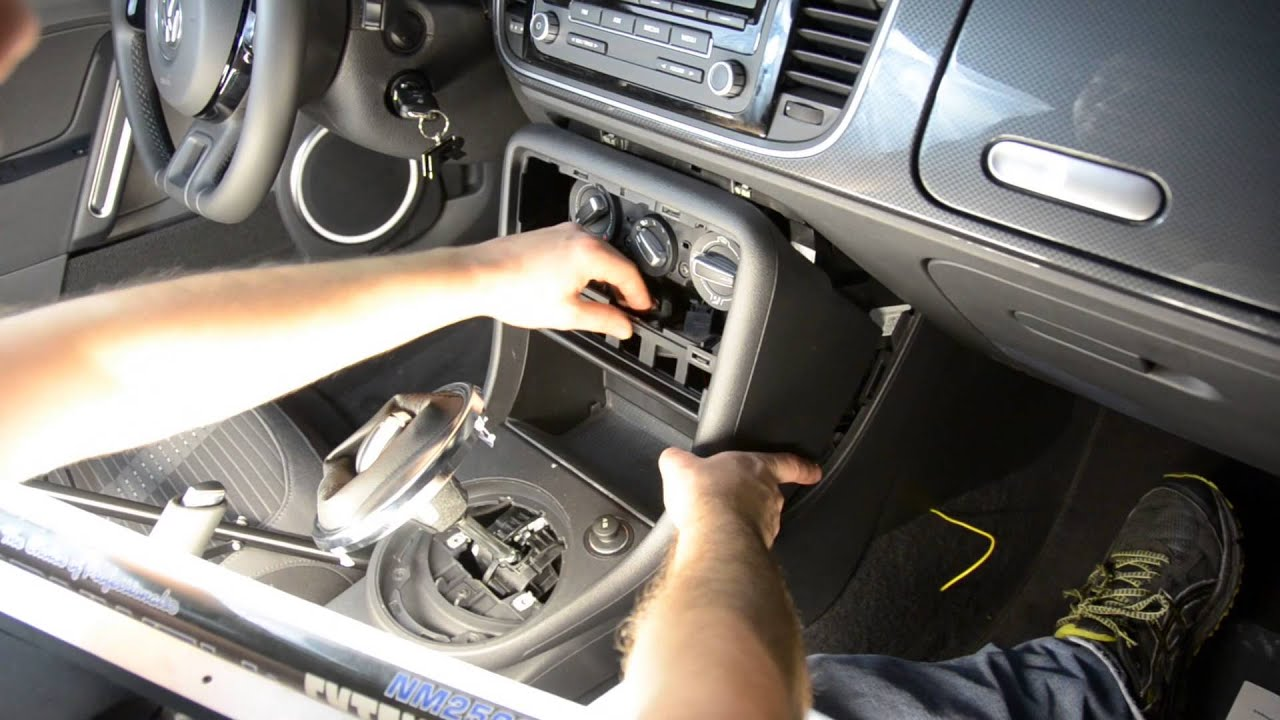 VW Beetle Traction Control Button Kit Install DIY by USP Motorsports