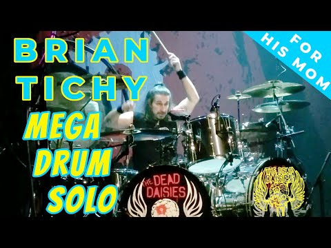 Brian Tichy Mega Drum Solo - Dead Daisies at Rams Head Live Baltimore Aug 18 2017 @TheDeadDaisies