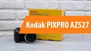 распаковка фотоаппарата Kodak PIXPRO AZ527 / Unboxing Kodak PIXPRO AZ527