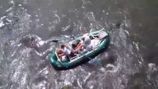 Boating and Fishing on the French Broad River in Hot Springs NC Thumbnail