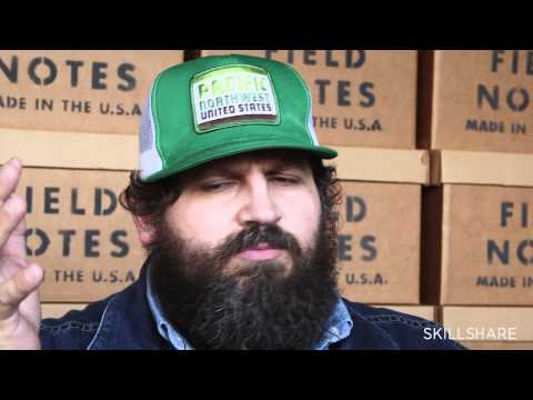 Trailer: Logo Design with Aaron Draplin on Skillshare.com