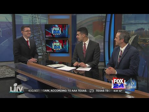 Derek Sibley Joins The Fox 24 News A.M. Live Team! 4-5-2019