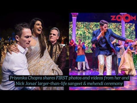 Priyanka Chopra & Nick Jonas Wedding & Sangeet Ceremony - latest pictures & videos