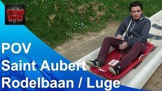 Rodelbaan / Luge Saint Aubert Onride, Doornik/Tournai Belgie, Belgique