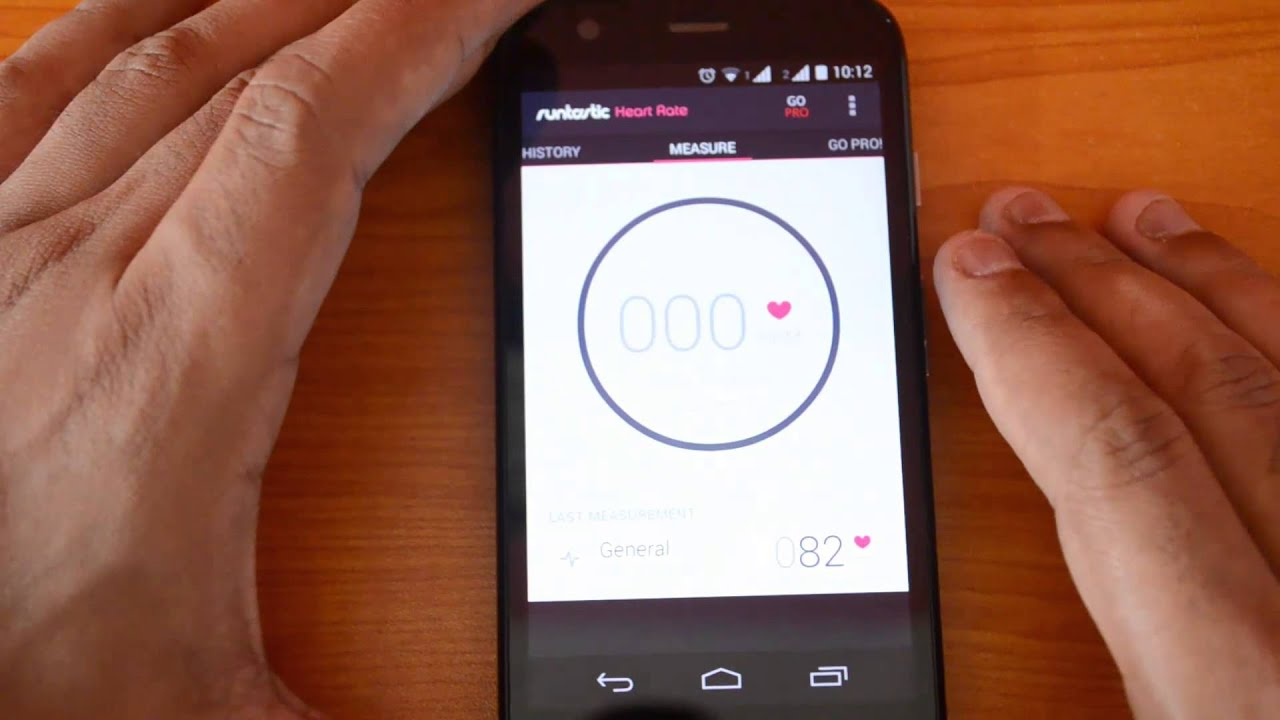 Check the Heart Rate on any Android Phone