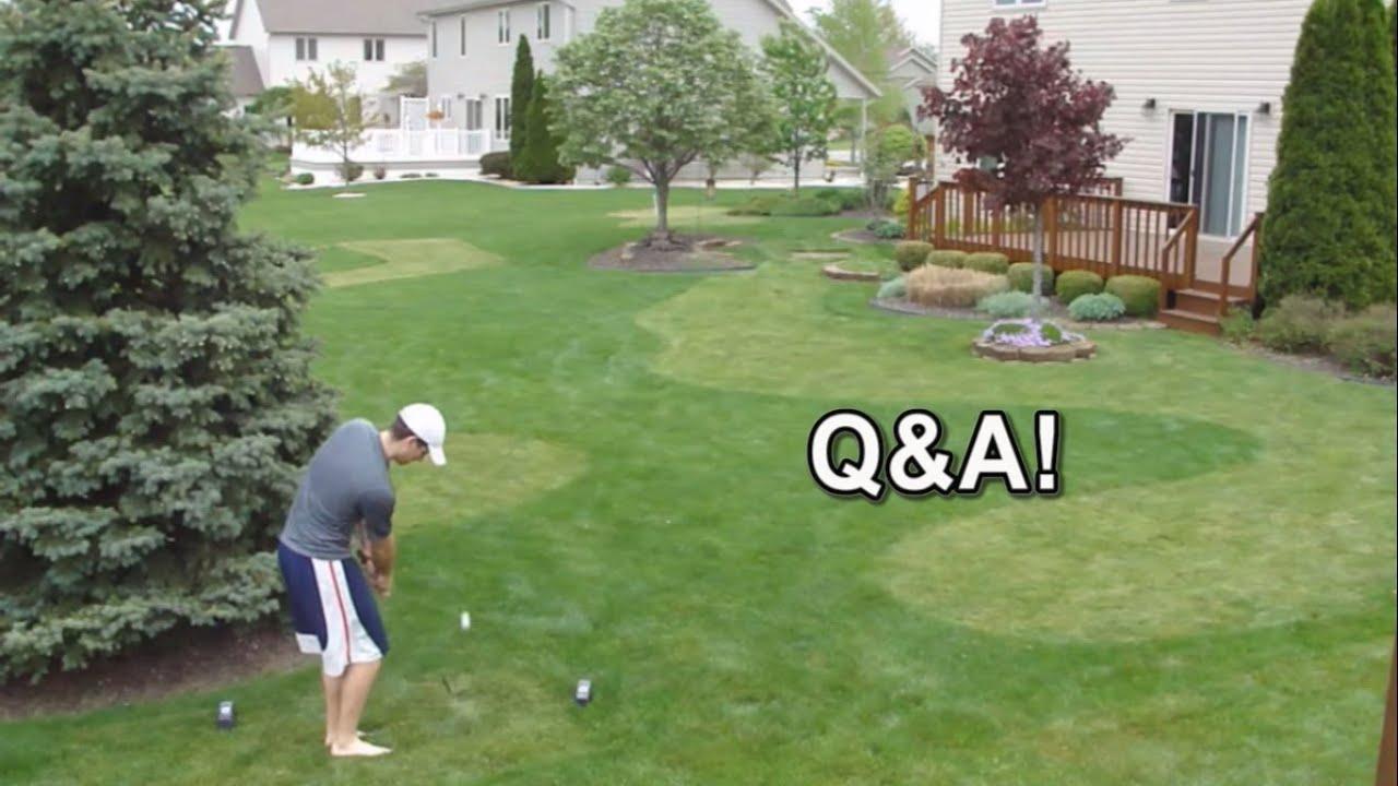 backyard golf course 2015 q u0026a youtube