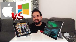 iPad Pro vs Surface Pro 4 cual es mejor opción de compra?