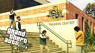 GTA 5 Bully In The Hood Ep. 1 - First Day (School Life)