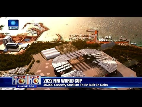 Qatar Unveil Movable 40,000-Seat Stadium For 2022 World Cup Pt.4 |News@10| 26/11/17