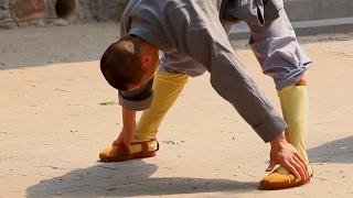 Тренировка c монахами Шаолинь | За кадром