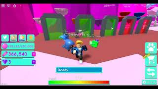 Roblox lets play ep05 Bubble gum simlator UNBOXING new dominous egg