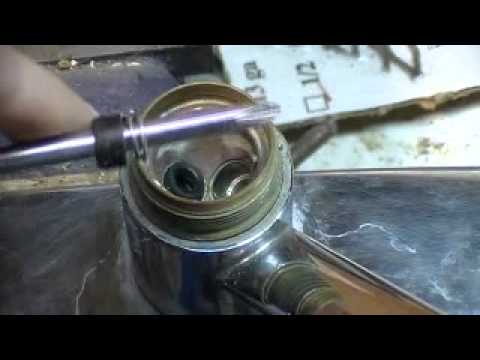 Delta Kitchen faucet repair - YouTube