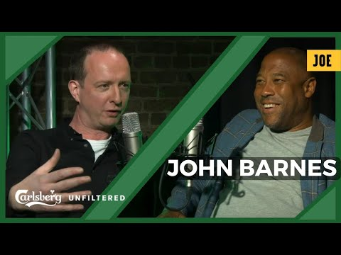 John Barnes : why real racists don't get caught, the secret reason for Brexit & his father, his hero