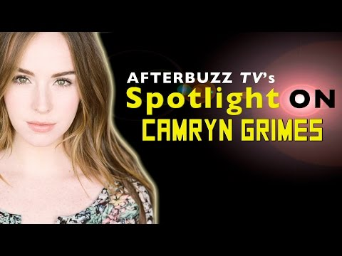 Camryn Grimes   AfterBuzz TV's Spotlight On