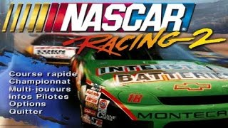 Nascar Racing 2 gameplay (PC Game, 1996)