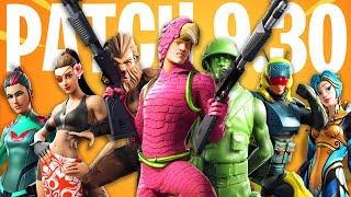 ATTACK AEREO, SKIN SEGRETA AND MOSTRO! NEW PATCH 9.30 - Fortnite ITA