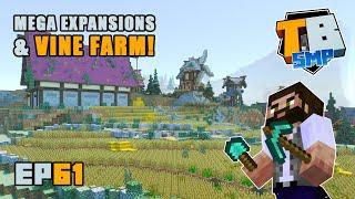 VINE FARM, Windmill & Brewery!   Truly Bedrock Season 2 [61] Minecraft Bedrock SMP