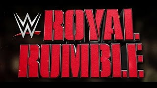 WWE ROYAL RUMBLE 2015 Official Poster Drawing - BlackHeron