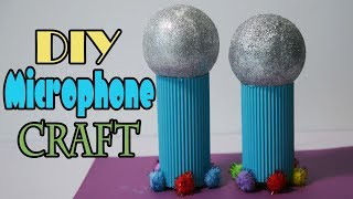 Easy DIY Microphone for kids | pretend play tutorial | Easy homemade crafts