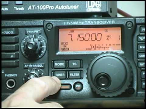Icom IC-7200 Basic Operation