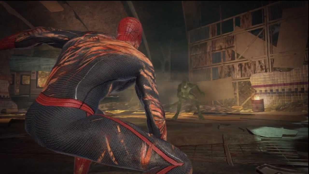 The Amazing Spider Man VS The Lizard Final Boss Fight