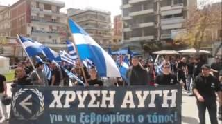 Golden Dawn Marching Song - The Last Faithful Ones ENGLISH SUBTITLES
