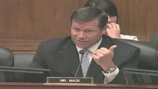 Congressman Connie Mack (R-FL) questions Special Assistant to the President Ron Bloom
