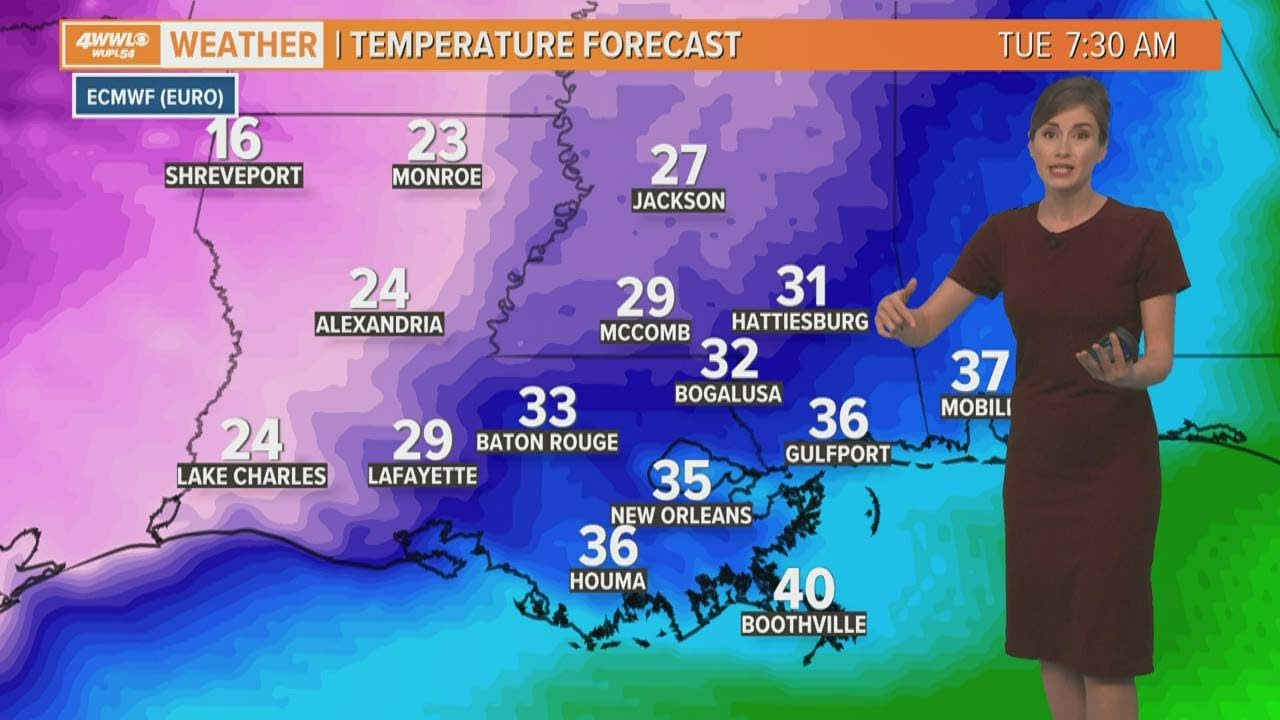 Coldest Fat Tuesday on record in the forecast for Mardi Gras 2021?