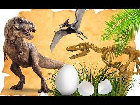 Долина Динозавров. СБОРНИК МУЛЬТИКОВ ПРО ДИНОЗАВРОВ!!! Тираннозавры, спинозавры, трицератопс и др