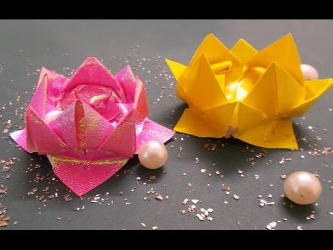 Diy crafts origami lotus tutorial origami flowers paper crafts diy crafts origami lotus tutorial origami flowers paper crafts mightylinksfo