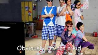 Not young U-KISS english version
