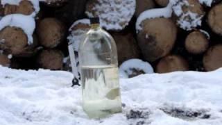 Air Rifle Daystate Airwolf Water Bottle Damage.