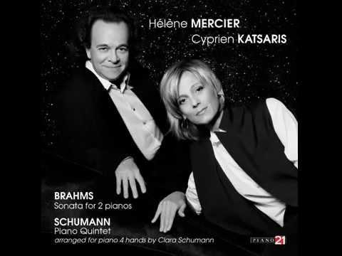 Cyprien Katsaris, Hélène Mercier - Brahms and Schumann
