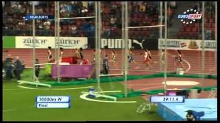 Championnats d'Europe 2014 - Finale 10000m Femmes