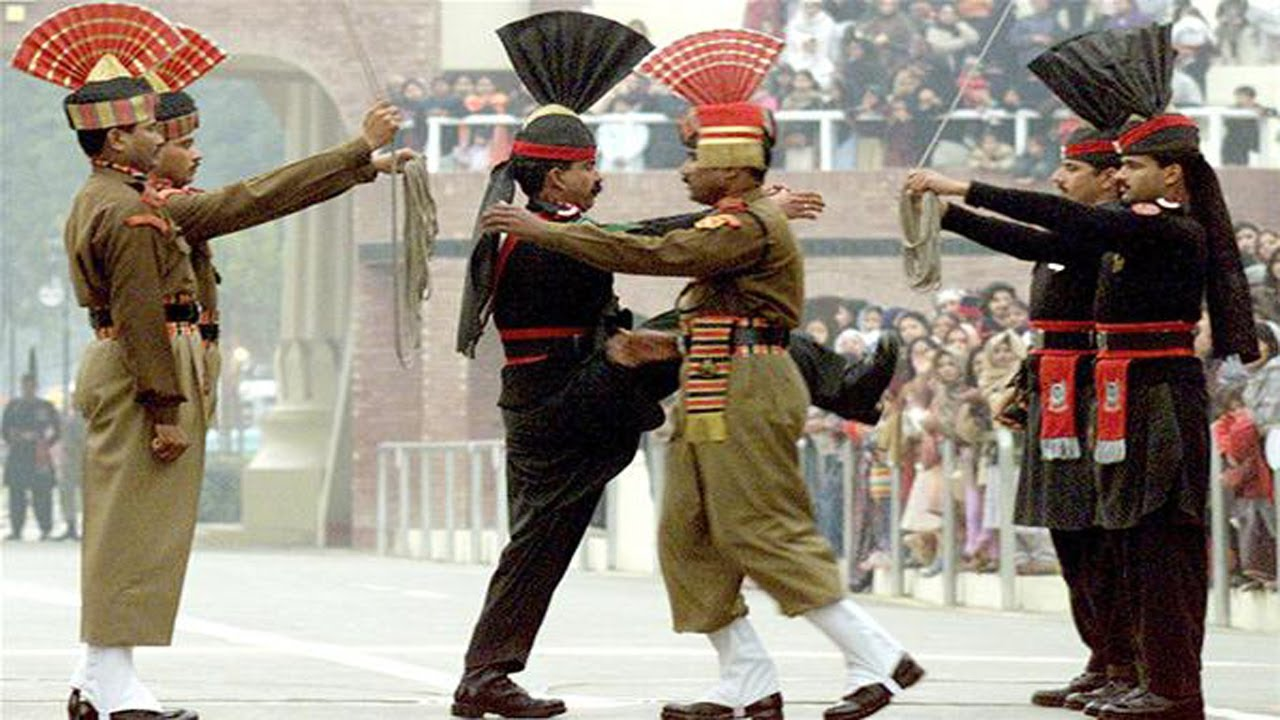 The Unseen Pictures Of India Vs Pakistan Wagah Border