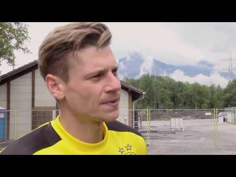 Lukasz Piszczek spricht über das BVB-Trainingslager in Bad Ragaz