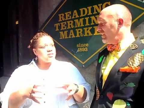 Serve Taste Trash! Game at Reading Market in Philadelphia, PA