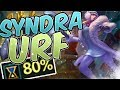 SYNDRA URF 2017 ONE SHOT ULT Ultra Rapid Fire Christmas All Random URF 2017