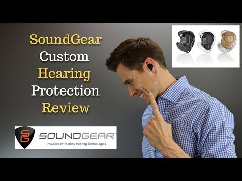 SoundGear Custom Electronic Hearing Protection - Applied Hearing Solutions