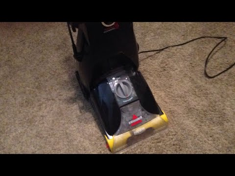 BISSELL PRO HEAT CARPET CLEANER REVIEW HOW-TO