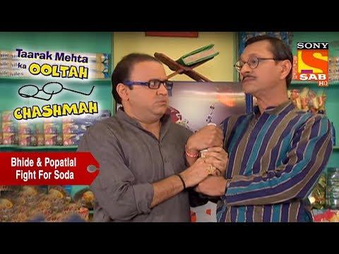 Bhide & Popatlal Fight For Soda | Taarak Mehta Ka Ooltah Chashmah