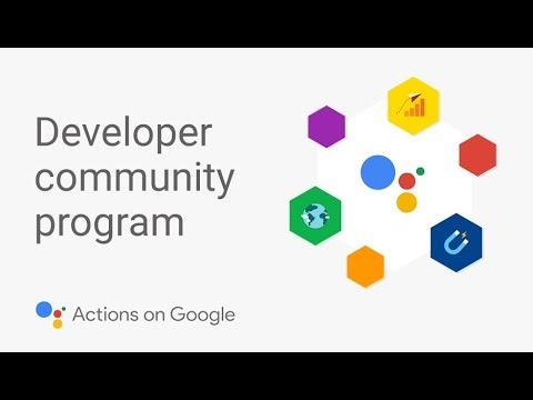 What is the Google Assistant Developer Community Program?