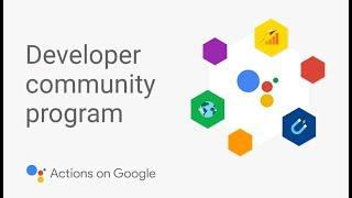 What is the Google Assistant Developer Community Program? thumbnail